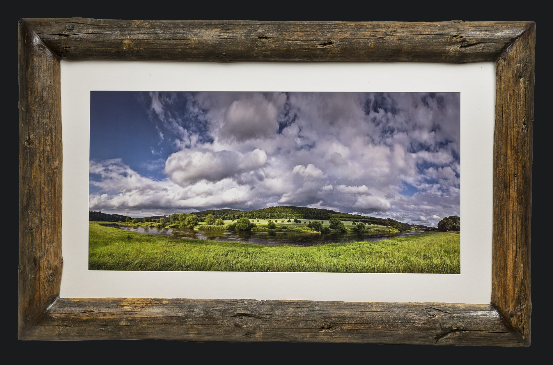 Naturholz-Bilderrahmen - Tores Art